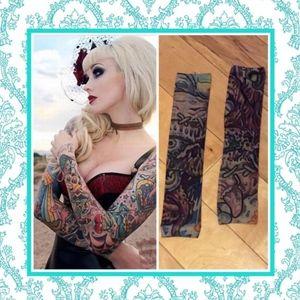 Accessories - 🌺 cool temporary tattoo sleeve slip on rockabilly